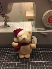 "Tender Toys 4"" Teddy Netherlands miniature Christmas bear plush toy"