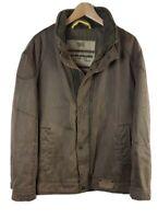 Mens Camel Nature Challenge Moleskin Jacket Extra Large XL 52 Khaki
