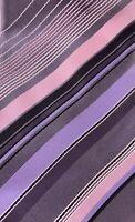 """Alfani 61"""" Silk Tie - Silver, Purple, and Pink Pastel Necktie"""