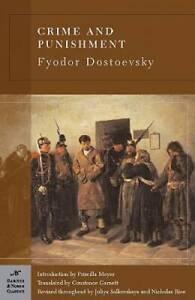 Crime and Punishment (Barnes & Noble Classics) - Paperback - GOOD
