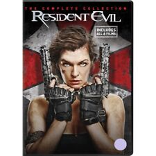 Resident Evil The Complete Collection DVD 2017 Region 2