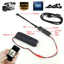 Wireless Mini Spy Nanny Cam WIFI IP Pinhole DIY Digital Video Camera Hidden DVR