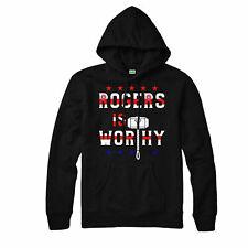 Rogers Is Worhy Hoodie, Captain America Thor Gift Marvel Adult & Kids Hoodie Top