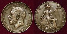GREAT-BRITAIN Grande-Bretagne 1 penny 1912 George V