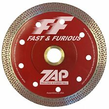 "5"" Fast & Furious II Porcelain Diamond Blade with Reinforced Hub - Brand New"