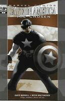 Captain America Comic 3 The Chosen Variant First Print David Morrell Marvel