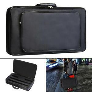 Universal Portable Black Guitar Effects Pedal Board Gig Bag Oxford Fabric