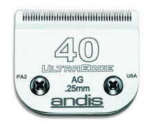 "Andis #40 UltraEdge Clipper Replacement Blade 1/100"" 0.25 mm #64076 # 40 NEW"