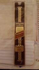 Vanguard Goldtone Watch Band - Womens     (M)