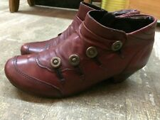 REMONTE button victorian gothic steampunk edwardian style womens boots  sz 37-7