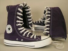 CONVERS knee high ALL STAR Chuck Taylor GOTHIC GRAPE Canvas Purple Lily NEW UK5