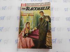 The Blackmailer by Ernst Klein (1952, Avon, PB) Rare Vintage Paperback Nice 1ST