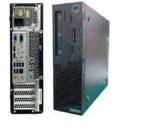 LENOVO M93p SFF Pentium G3220 3GHz 4GB RAM 500GB HDD DVDRW Win 10 PRO