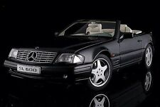 AUTOART MERCEDES-BENZ SL600 V12 Black Metallic 1:18 *Last One!!!