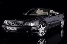 AUTOART MERCEDES-BENZ SL600 V12 Black Metallic 1:18 *Last One!!!