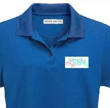 30 x School Name Labels, Iron-on LABELS Personalised Clothes Tags NAME AGED CARE