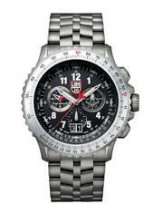 New Luminox F-22 RAPTOR 9240 Series Black Dial Men's Titanium Watch XA.9241.M
