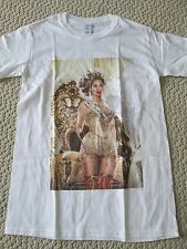 New Auth Beyonce The Mrs Carter World Tour Merch Queen Tour Date Tee Shirt Sz S