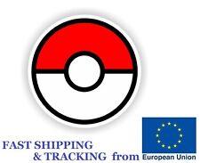 "Pokemon Go Pokeball Sticker Decal JDM Car Truck Laptop Boat 3"" Ball"