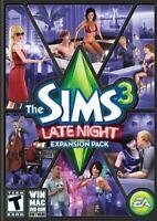 Sims 3: Late Night (Windows/Mac, 2010) (FACTORY SEALED)