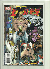 Exiles # 55 - 57. Bump in the Night .Parts 1 - 3 . Marvel Comics.