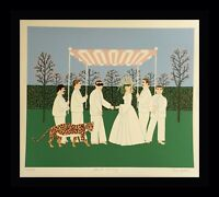 Mark Sabin Secret Ceremony Wedding Ceremony Hand Signed & Numbered  ART