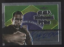 2011 LEAF MMA NATIONAL PRIDE FABRICIO WERDUM UFC HEAVYWEIGHT CHAMP AUTO CARD