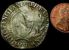 S770: 1660 Cromwell du Commonwealth argent martelé Shilling-Mm Premium