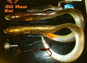 savage gear 20cm mixed real eels 2pcs best deal ever jighead and stinger bargain