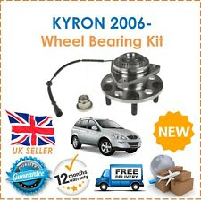 For SSANGYONG KYRON 2.0 TD 2006- Front Wheel Bearing Hub Kit With ABS Sensor 4x4
