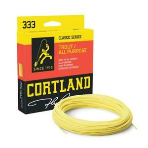 Cortland 333 Trout / All Purpose Floating Fly Line