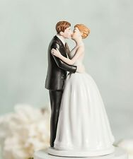 """NEUF"" ROMANTIQUE KISSING Couple Wedding Cake Topper Figurine RRP £ 29.50"