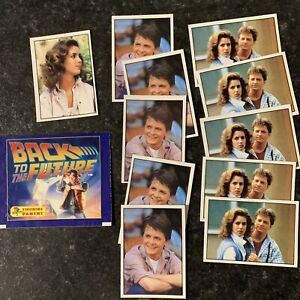 Panini Back to the Future 1985 - 11 Stickers & Empty Pack. Many Duplicates #1