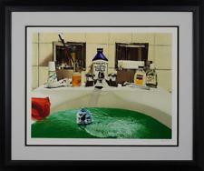 Doug Webb - Urban Daydream II, hand-signed serigraph, Framed