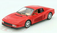 FERRARI TESTAROSSA 1:24 Diecast Car Model Die Cast Cars Toy Miniature Red