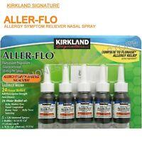 Kirkland Aller-Flo Allergy Relief Fluticasone Non-Drowsy Nasal Spray 5 Bottles