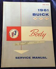AM375 1961 Buick Body Service Manual PSD53-66