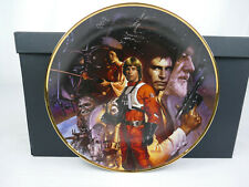 STAR WARS THE HAMILTON COLLECTION PLATE A NEW HOPE COA LIMITED EDITION BY MORGAN