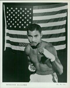 1960 Skeeter McClure Olympic Gold Boxer Original News Service Photo
