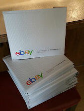 "NEW (20) eBay Branded Padded Envelopes 8.5"" x 10.75"" Airjacket Envelopes"