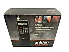 New ListingVintage Uniden Bearcat 200 Channel Programmable Hand Held Scanner Bc 200Xlt Vg
