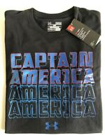 NWT Under Armour Marvel Captain America Avengers Loose Fit Size Mens Medium