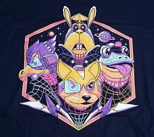 """A Retro Future"" Star Fox McCloud Falco Slippy XXL Men's Shirt Theyetee"