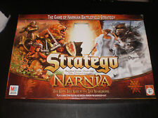 STRATEGO NARNIA EDITION MILTON BRADLEY 2005 CONTENTS ARE IN EXCELLENT CONDITION