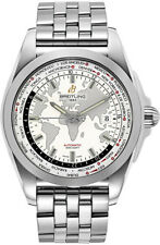 Breitling Galactic Unitime World Time Stainless Steel 44mm WB3510U0/A777-375A