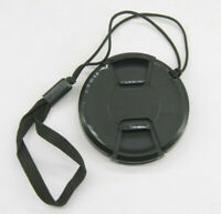 58mm  - Front Snap On Lens Cap - Unbranded with Leash - USED Z947