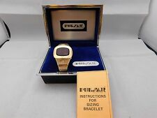 """Pulsar Time Computer 1970's Digital LED Mens Watch - """"Sold For Parts or Repair"""""""