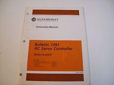Allen-Bradley 141953 1391 Ac Servo Controller Manual 1391-5.1 - Free Ship