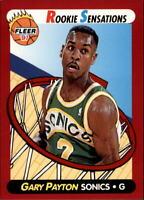 1991-92 Fleer Rookie Sensations #9 Gary Payton - NM-MT