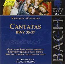 BACH J.S. Cantate Vol.12 BWV 35,36,37 CD